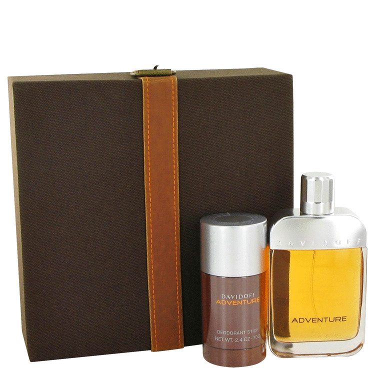 Adventure by Davidoff 2 Pc Gift Set for men