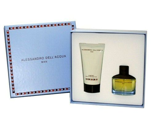 Alessandro Dell Acqua Man 1.7 oz EDT and shower gel