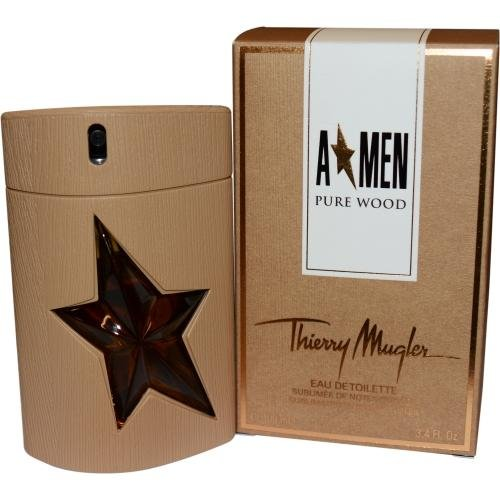 Angel Men Pure Wood by Thierry Mugler 3.4 oz EDT for men