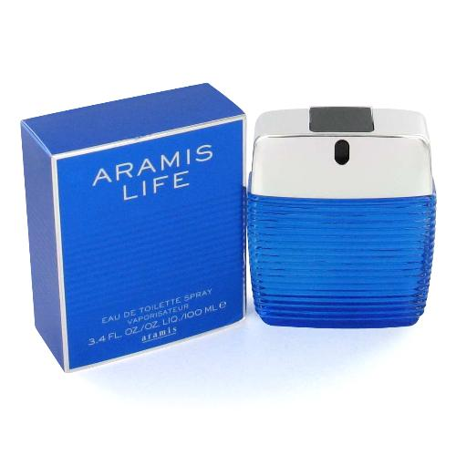 Aramis Life - blue box 3.4 oz EDT for men