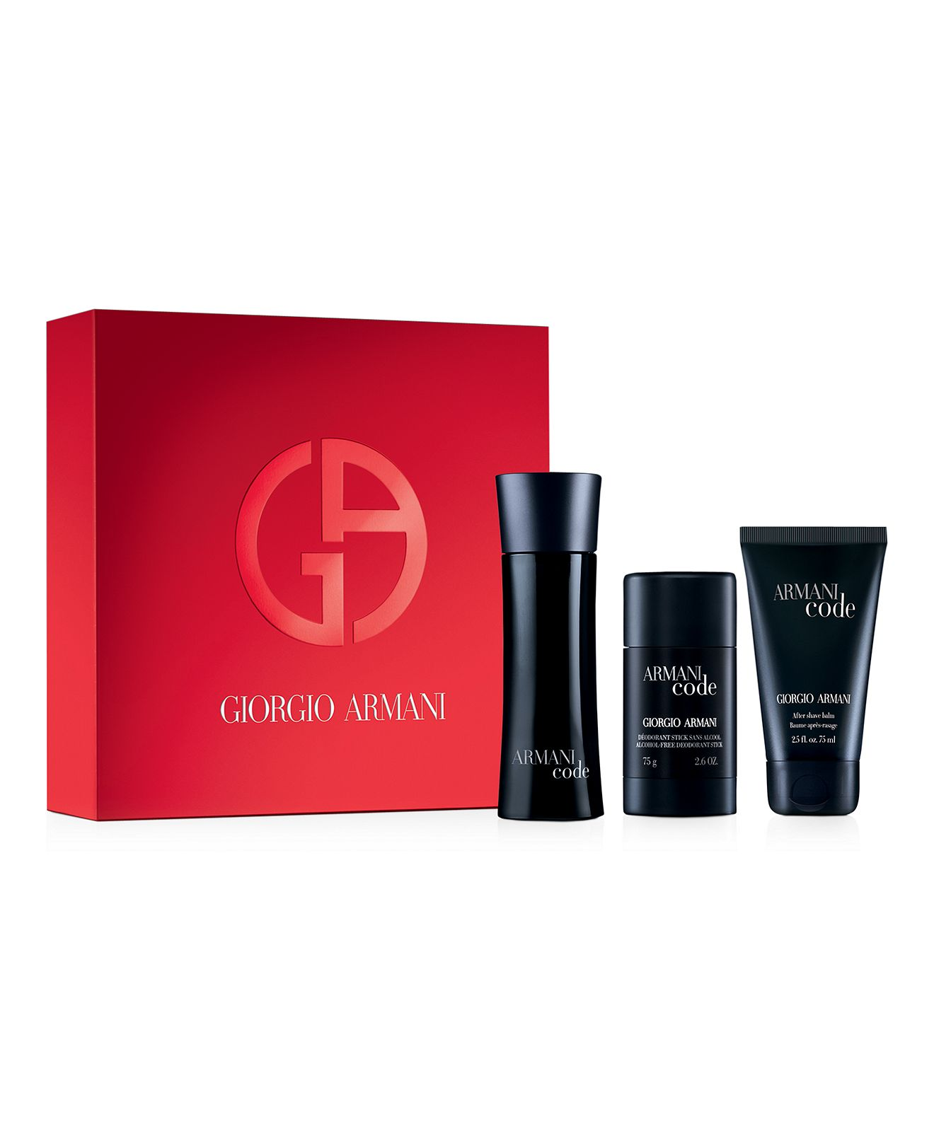 Armani Code by Giorgio Armani 3 Pc Gift Set for men