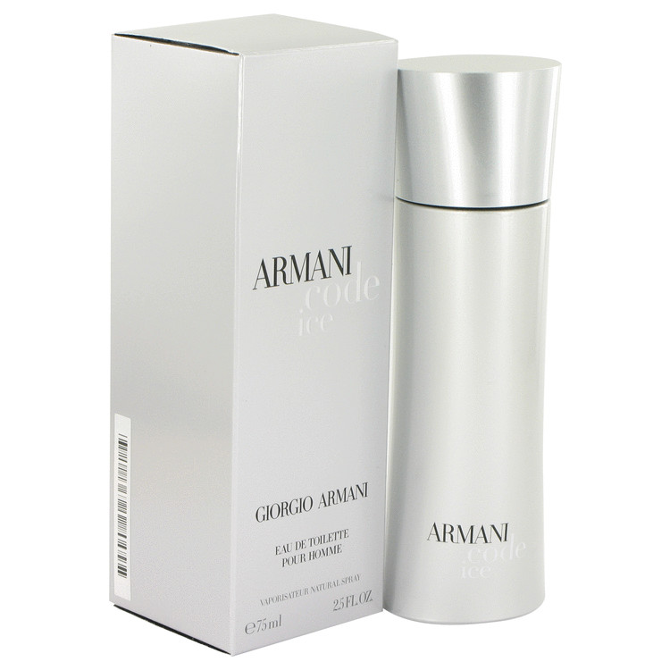Armani Code Ice by Giorgio Armani 2.5 oz EDT for men