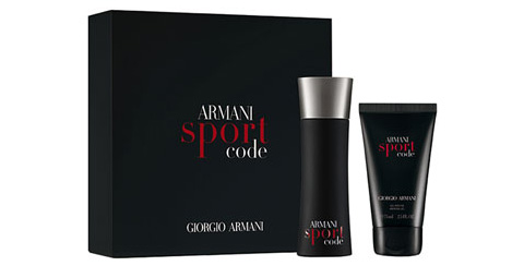 Armani Code Sport by Giorgio Armani 2 Pc Gift Set for men
