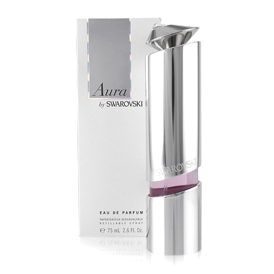 Aura by Swarovski 1 oz EDP refillable for women