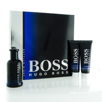 Boss Bottled Night by Hugo Boss 3 Pc Gift Set for men