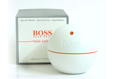 Boss In Motion White by Hugo Boss 3 oz EDT for Men