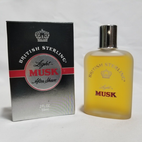 British Sterling Light Musk by Dana 2 oz After Shave