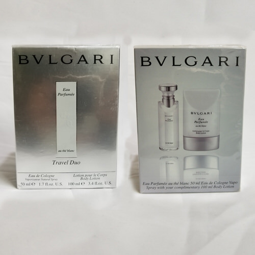 Bvlgari Eau Parfumee Au The Blanc 1.7 oz EDC Travel Duo