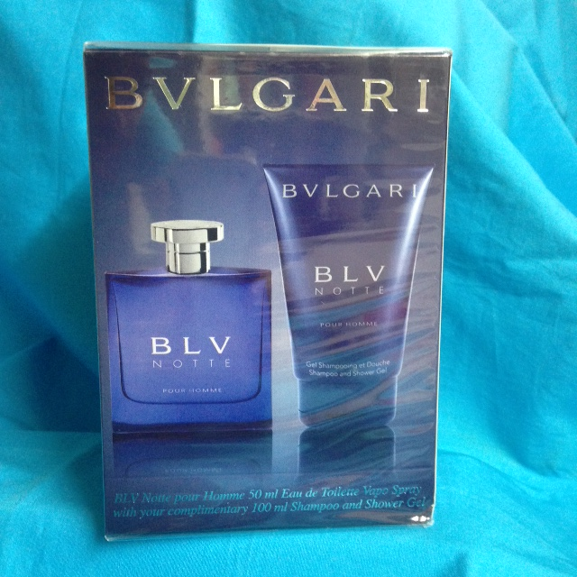 Bvlgari Blv Notte Pour Homme Travel Duo set for men