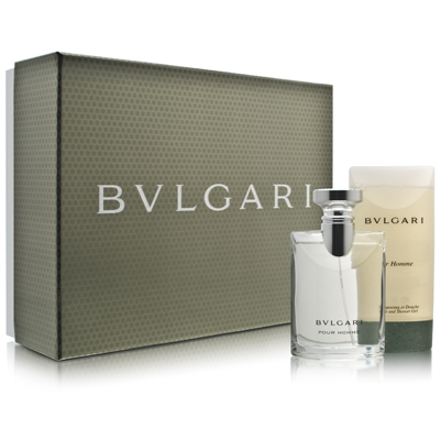 Bvlgari 2 Pc Gift Set for Men
