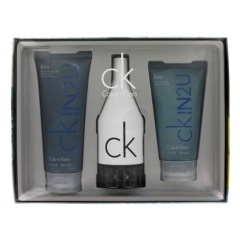 CKIN2U by Calvin Klein 3 Pc Gift Set for men