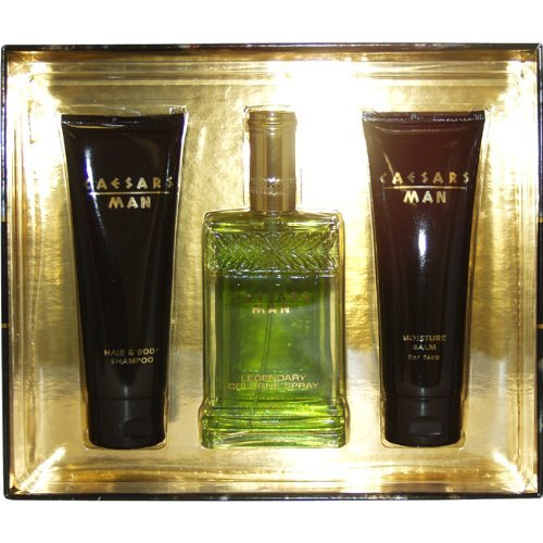 Caesars Man cologne 3 piece gift set for men