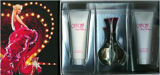 Can Can by Paris Hilton 3 Pc Gift Set for Women