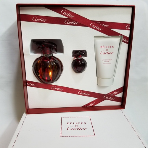 Delices De Cartier 3 piece gift set for women