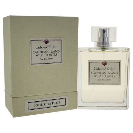 Crabtree & Evelyn Caribbean Island Wild Flowers 3.4 oz EDT
