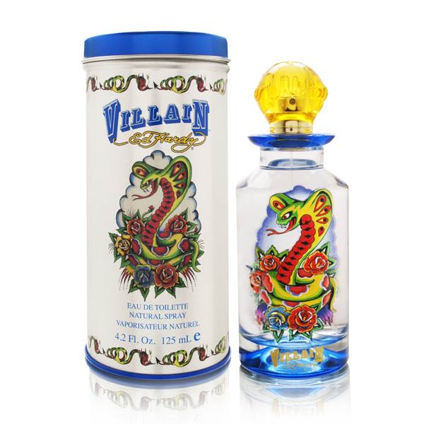 Ed Hardy Villain by Christian Audigier 4.2 oz EDT UNBOX for men