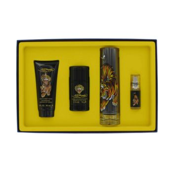 Ed Hardy by Christian Audigier 4 Pc Gift Set for Men