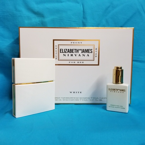 Nirvana White by Elizabeth and James 2 Piece gift set