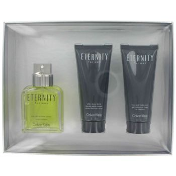 Calvin Klein Eternity by Calvin Klein 3 Pc Gift Set for men