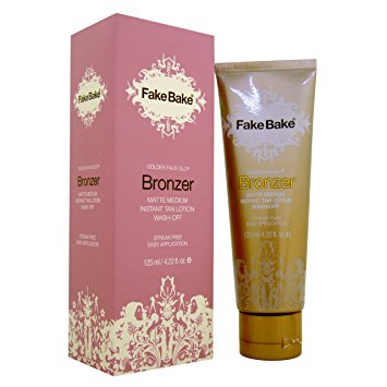Fake Bake Bronzer Wash Off Instant Tan, 4.22 oz