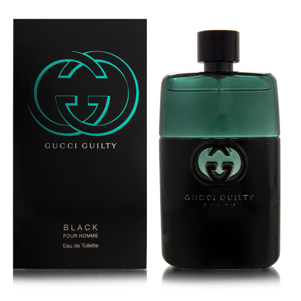 Gucci Guilty Black by Gucci 3 oz EDT for men