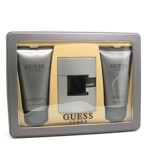 Guess Suede 2.5 oz EDT gift set for men