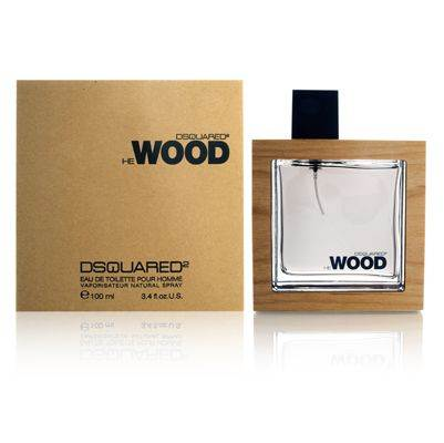 He Wood by Dsquared2 3.4 oz EDT UNBOX for men