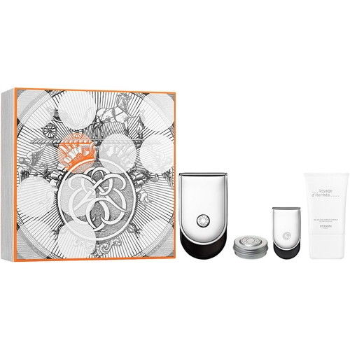 Voyage D'Hermes 4 piece gift set for men and women