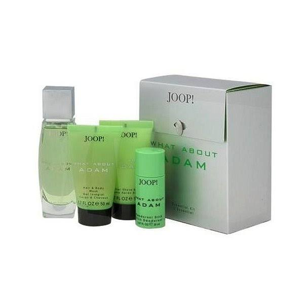 Joop! What About Adam 2.5 oz gift set for men