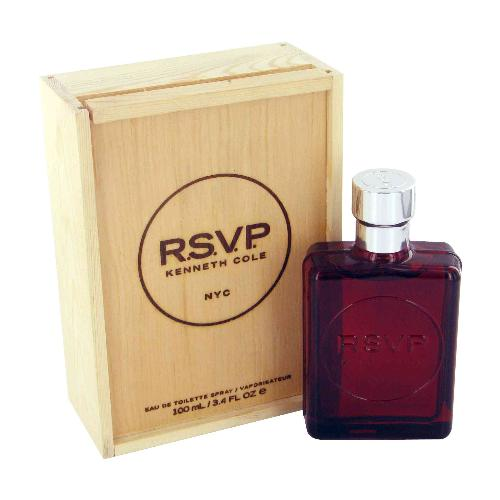 Kenneth Cole Rsvp wood box 1.7 oz EDT for Men