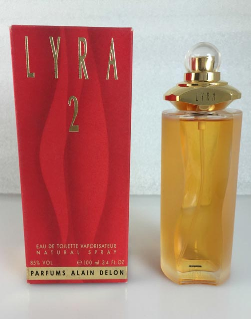 Lyra 2 by Alain Delon 3.4 oz EDT for women