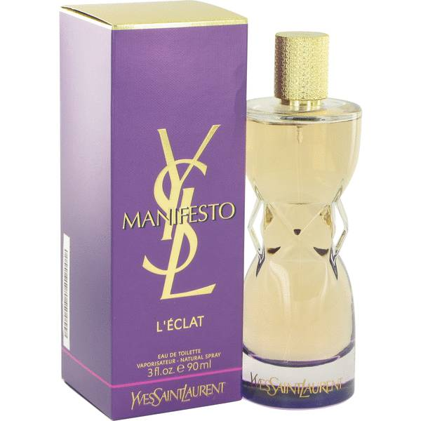 manifesto l 39 eclat by yves saint laurent 3 oz edt for women. Black Bedroom Furniture Sets. Home Design Ideas