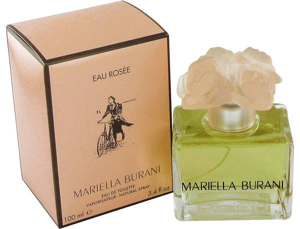 Eau Rosee by Mariella Burani 3.4 oz EDT for women