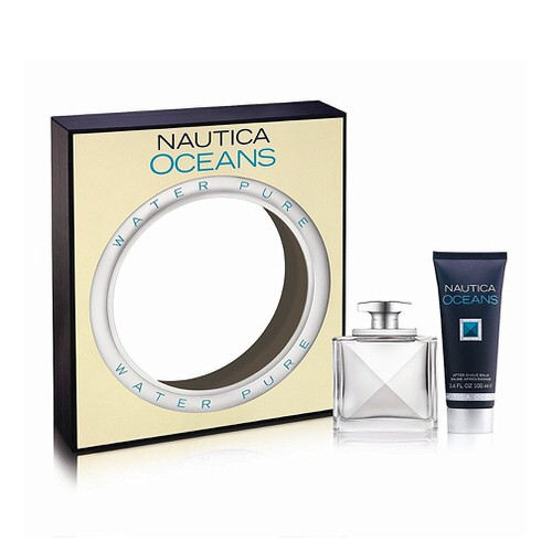 Nautica Oceans 3.4 oz EDT & after shave balm