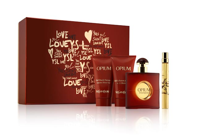 Opium By Yves Saint Laurent 4 Pc Gift Set for Women
