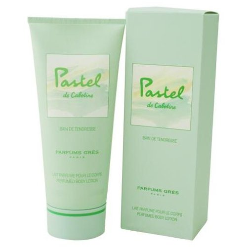 Pastel De Cabotine by Parfums Gres 6.76oz/200ml Body Lotion