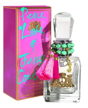 Peace Love & Juicy Couture by Juicy Couture 1.7 oz EDP UNBOX