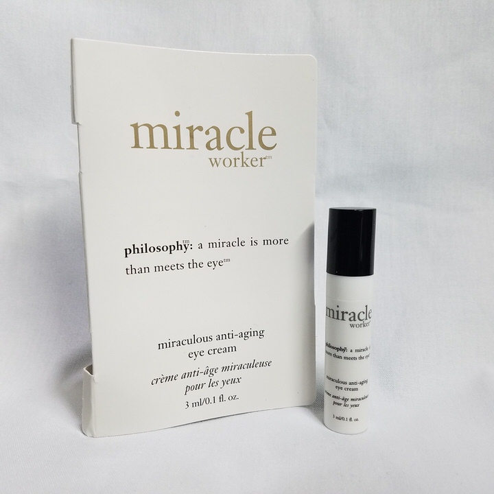 Philosophy Miracle Worker Miraculous .1 oz Anti-Aging Eye Cream