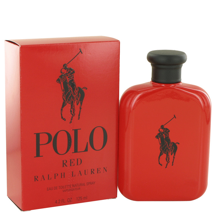 Polo Red by Ralph Lauren 4.2 oz EDT for men
