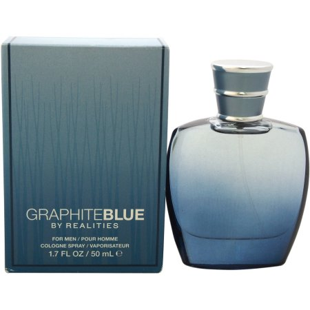 Realities Graphite Blue by Liz Claiborne 1.7 oz Cologne for men