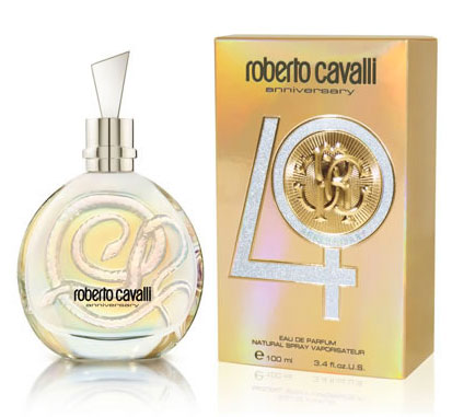 Roberto Cavalli 40th Anniversary 3.4 oz EDP tester for women