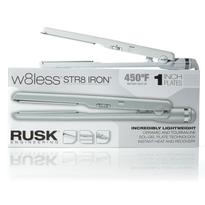 Rusk W8less Professional Ceramic Str8 Iron 1""