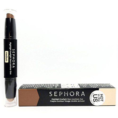 Sephora Highlight Lowlight Face Contour Duo 02 Medium 0.12 oz