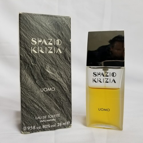Spazio Krizia Uomo 0.95 oz EDT 70% full for men