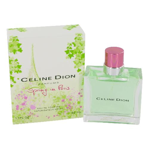 Spring In Paris by Celine Dion 1.7 oz EDT tester for women
