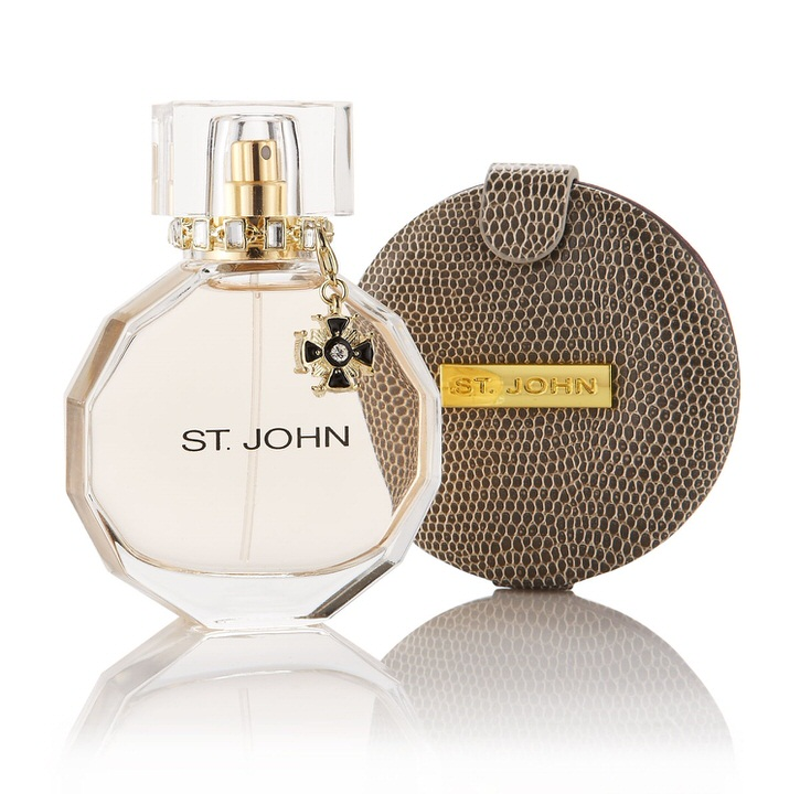 St John Signature 1.7 oz EDP & Compact mirror for women