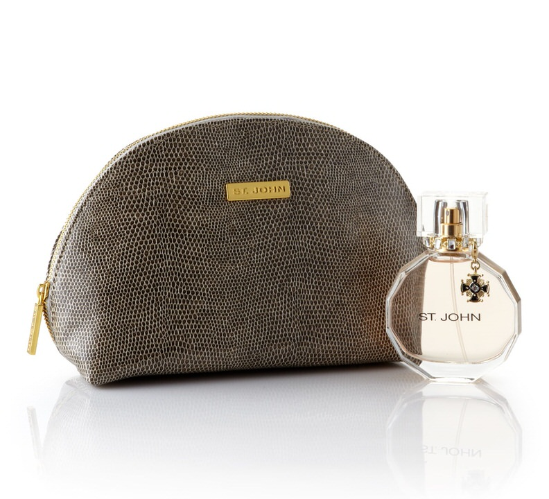 St John Signature 1.7 oz EDP & Cosmetic bag for women