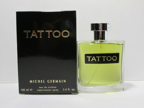 tattoo by michel germain 3 4 oz edt for men om fragrances