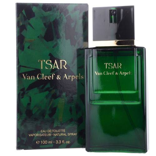 Tsar by Van Cleef & Arpels 3.3 oz EDT tester for men