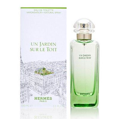 un jardin sur le toit by hermes 3 4 oz edt for men and women om fragrances. Black Bedroom Furniture Sets. Home Design Ideas